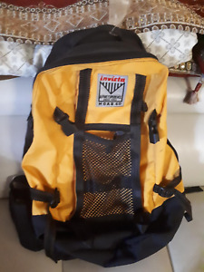 Invicta Yellow Backpack (Great Condition)