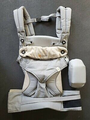 Ergobaby Four Position 360 Baby Carrier Ergo Grey Authentic