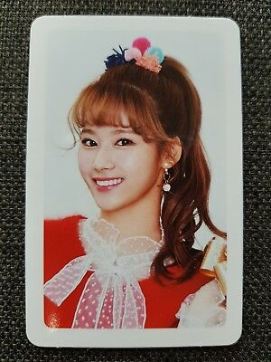 TWICE SANA Official PHOTOCARD #2 MERRY & HAPPY 1st Repackage