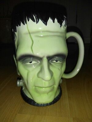 Universal Studios Monsters Large Coffee Cup Mug Frankenstein Halloween Scary