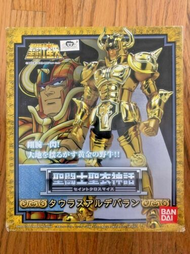 Bandai GOLD Saint TAURUS ALDEBARAN CLOTH MYTH NEW SEALED HOLIDAY USA
