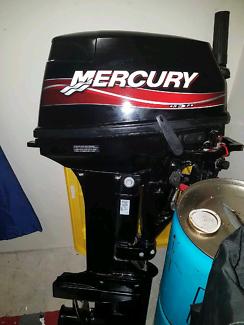 Mercury 15 hp outboard 2 stoke