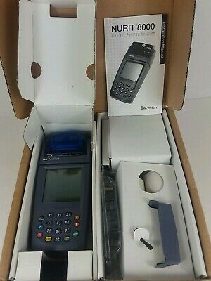 Verifone Nurit 8000s Wireless Palm Credit Card Terminal