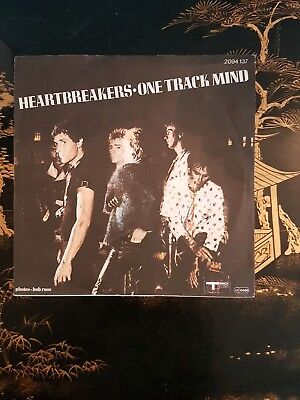 """the heartbreakers new york dolls one track mind german 7"""" single picture sleeve"""