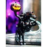 Disney Disneyland DCA Headless Horseman Light Up Straw Halloween + Carry Clip