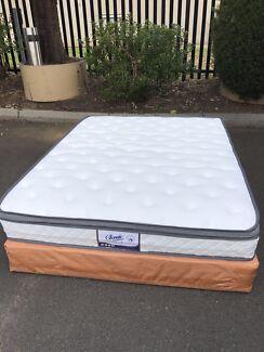 【BRAND NEW】【POCKET SPRING】 Eurotop mattress double$350 queen$370 Mount Waverley Monash Area Preview