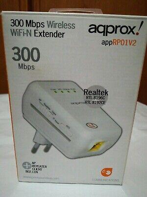 PUNTO DE ACCESO WIFI aqprox app RP01V2 300MBPS