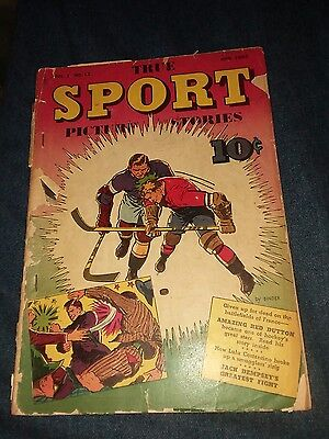 True Sport Picture Stories Vol. 1 (1942) #12 Fair jack dempsey's greatest fight!