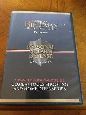 American Rifleman Video Collection- Personal Firearm Defense DVD series