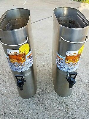 Bunn Commercial Restaurant Tdo 3.5iced Tea Dispenser Coffee Lot Of Two
