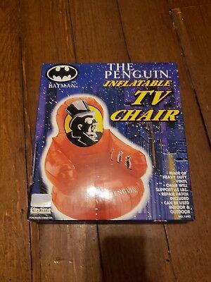 Batman  Inflatable Indoor Outdoor TV Chair Sealed 65 Pound Limit (Batman Chair)