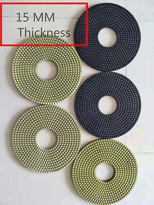 16 Inch 400 Mm Diamond Polishing Pad X 5 Stone Concrete Floor Polishing Machine