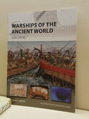 Warships of the Ancient World: 3000–500 BC (New Vanguard) NEW softcover