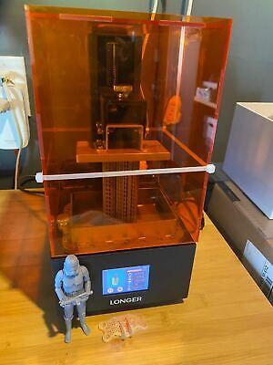 """Used Longer Orange 10 3D Printer 2.8"""" Touch Screen 98*55*140mm Resin 3D Printer"""