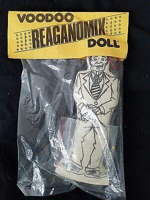 Vintage, rare Ronald Reagan 1980's Voodoo Reaganomix Doll Mint, unopened