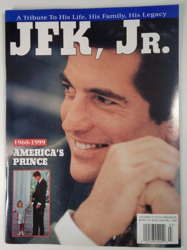 JFK Jr. Magazine Vtg 1999 Kennedy Tribute To His Life Collector Photos Rare