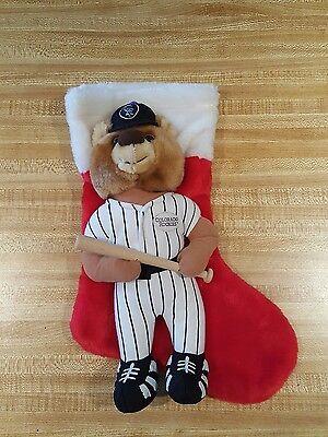 (Colorado Rockies Christmas Stocking Baseball Plush Stuffed)