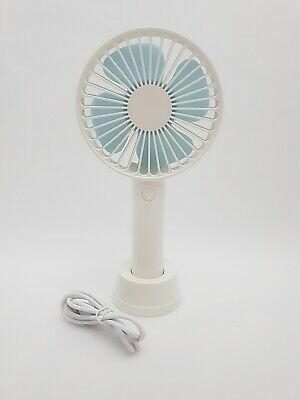 Rechargeable USB Mini Handy Cooling Fan Pocket Size Outdoor Personal Handheld