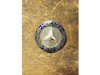 Mercedes NEW W108 W109  W111 W110 W112 Automatic Trunk Emblem Heckdeckel