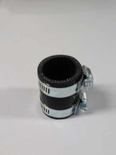 Honda ATC250R exhaust pipe clamp coupler black