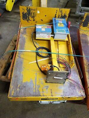 Electric 460v Pallet Lift Tipper 45 Deg. 24x48 2000lb Capacity