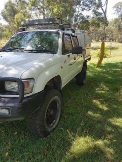 Hilux 04 turbo diesel  swap bobcat, excavator