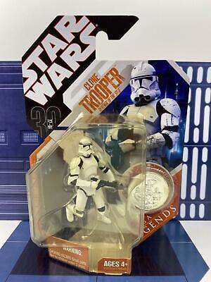 Star Wars 30th Anniversary Saga Legends Clone Trooper - Revenge of the Sith ROTS