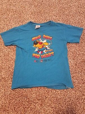 2015 16 Jump Rope For Heart Tshirt  Youth Small  Delta