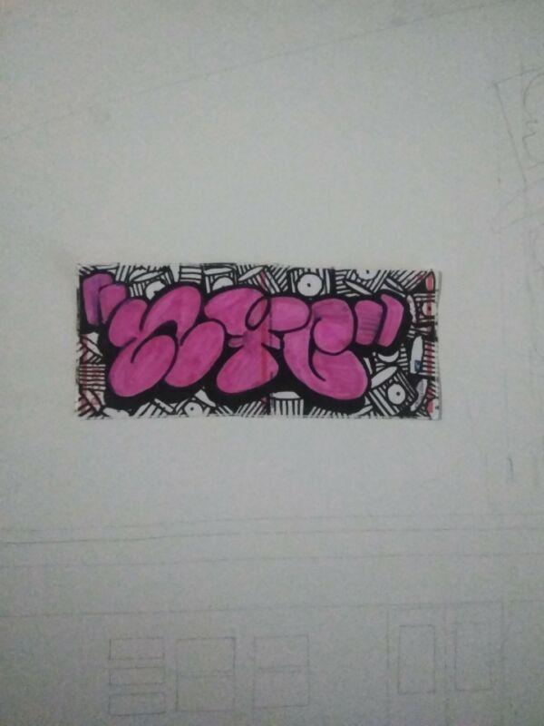 CUSTOM GRAFFITI STICKER