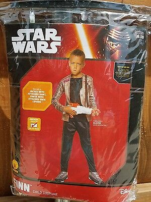 Costumes For 10 Year Olds (Star wars Finn costume size Medium 8-10 for 5-7 year)