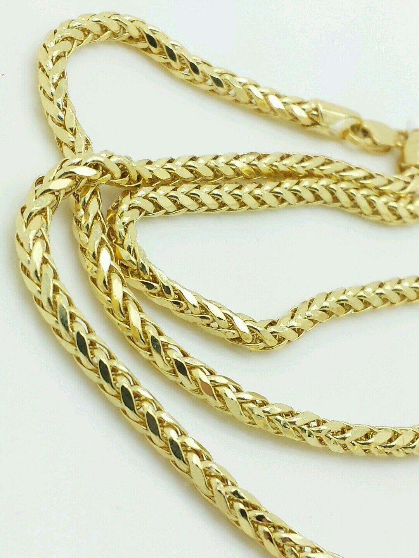 K Diamond Cut Gold Chain