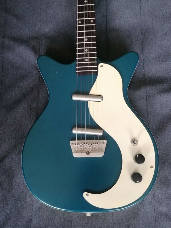 Danelectro DC 59 2007 Reissue - Limited Edition Satin Royal Blue