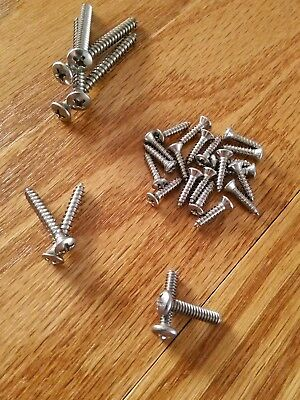 - Stainless Steel Replacement Screw Set for Fender Stratocaster