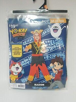 Halloween Costume Yo-Kai Watch Blazion Boy M (8-10)  Fantasy Dress Up Outfit GD (Watch Halloween 8)