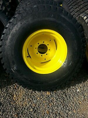 Two New 441800x20 44 1800 20 John Deere Tires On Wheels
