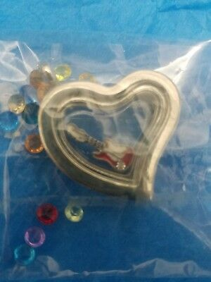 Guitar Heart Charm Necklace Customizable Girls stocking stuffer Christmas gift (Customizable Gifts)