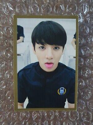 BTS Official 2014 Diary Fan Meeting Seasons Greeting Photocard JUNGKOOK