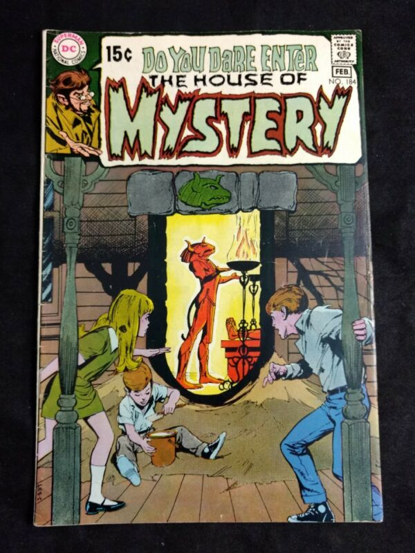 The House of Mystery #184 DC Comics 1970