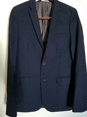 New Boys Blazer Suit Jacket Childrens Youth Dark Navy blue Size 10 HIGH Quality