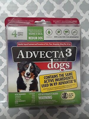 Advecta 3 Flea And Tick Treatment For Dogs and ndash; Flea And Tick Medicine 4