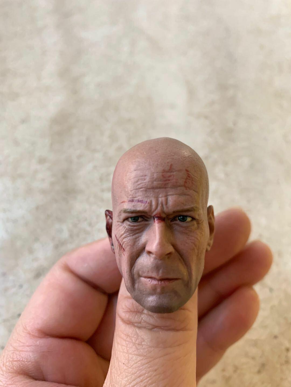 Custom 1//6 Scale Frank Castle Punisher Head Sculpt Fit 12/'/' Male Figure Body