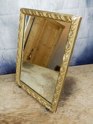 Antique Mirror,dressing table top, Stand, mirror, giltwood, original glass