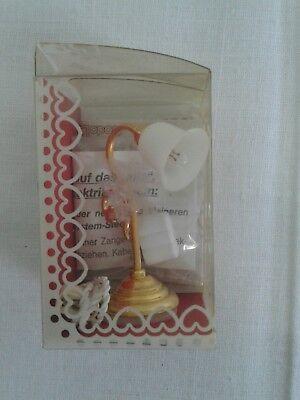 Tischlampe Bodo Hennig Zubehör  Puppenstube Puppenhaus  Lampe historisch neu