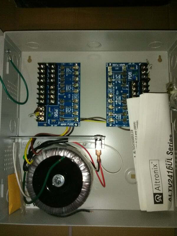 Altronix Altv2416ul power supply