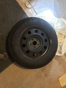 Winter tire with rim 225/65/17