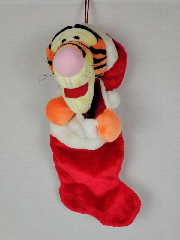 "Disney Tigger Plush 3D ""Winnie The Pooh"" Christmas Stocking"
