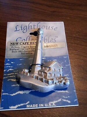 LIGHTHOUSE COLLECTIBLES NEW CAPE HENRY MAGNET