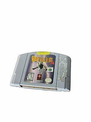 Virtual Chess 64 (Nintendo 64, 1998) N64 Tested & Working!