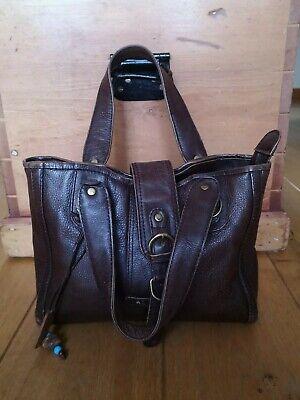 Hidesign Dark Brown Women's Leather Bag