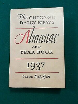 The Chicago Daily News Almanac Year Book 1937